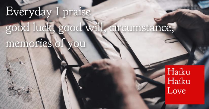 Everyday I praise