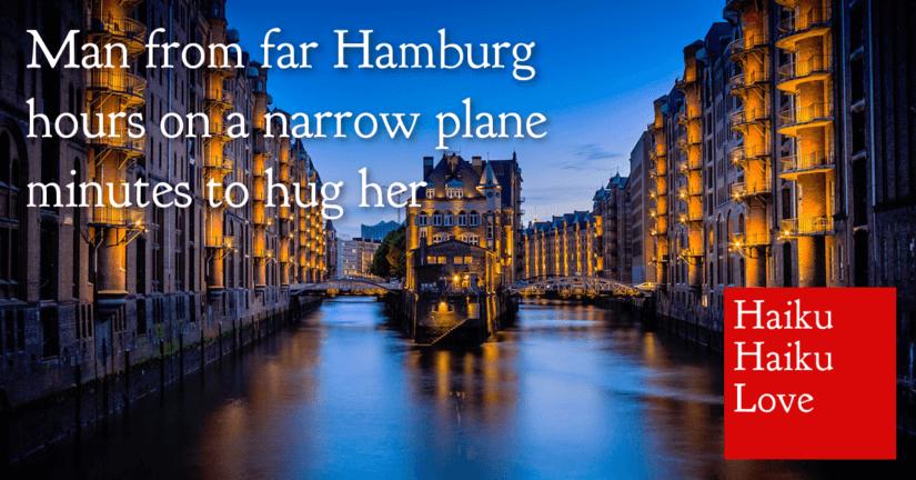 Man from far Hamburg