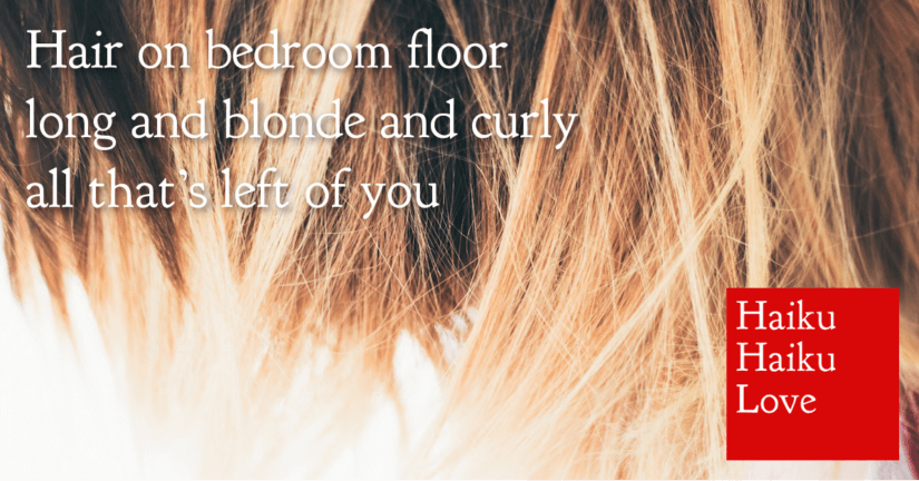 Hair on bedroom floor