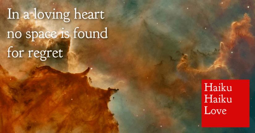 In a loving heart