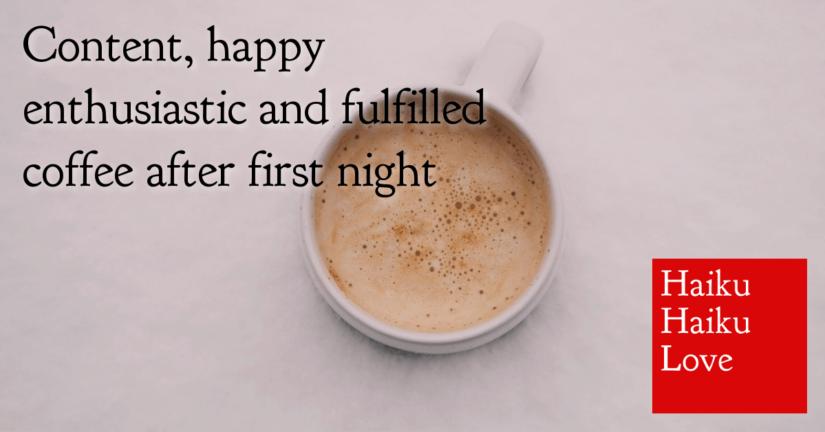 Content, happy
