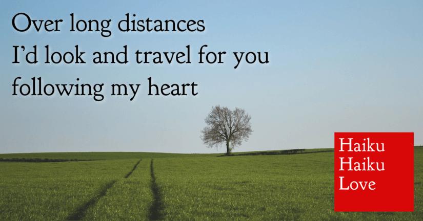 Over long distances