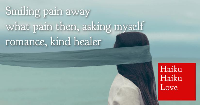 Smiling pain away