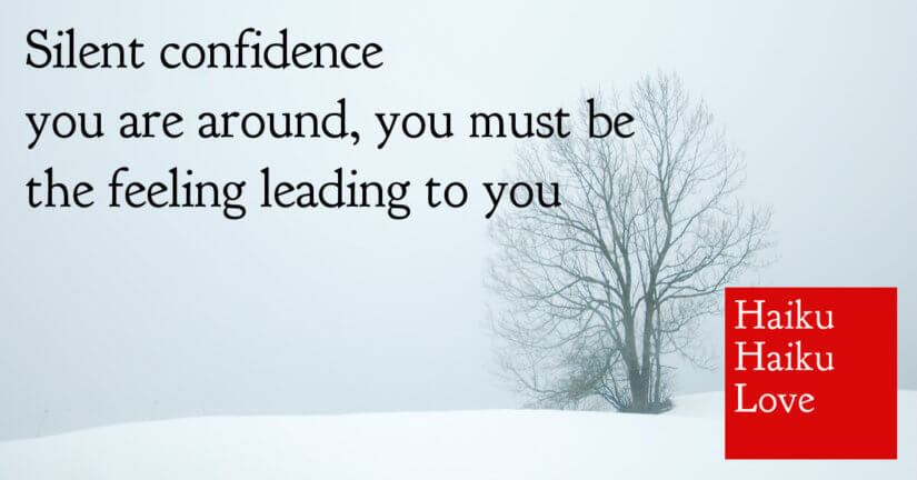 Silent confidence