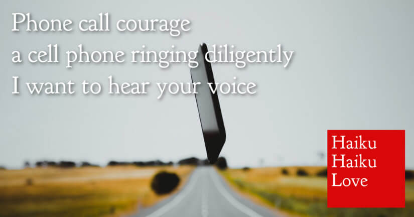 Phone call courage