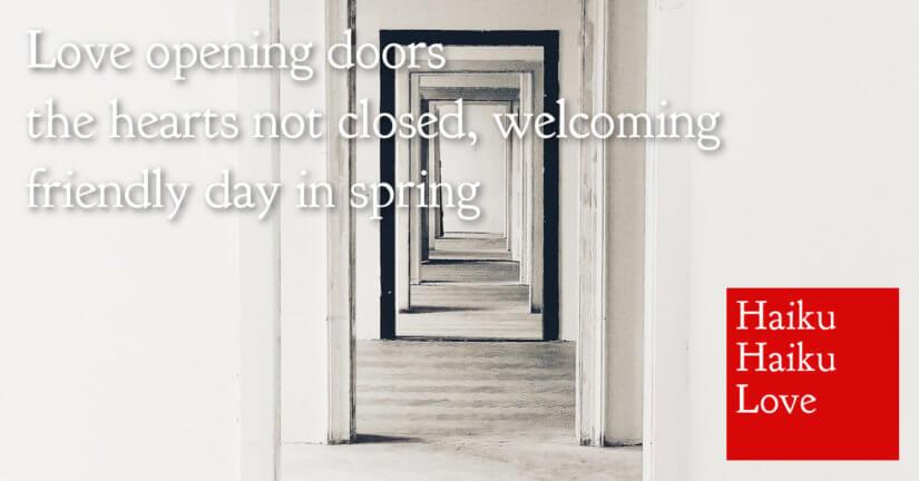 Love opening doors